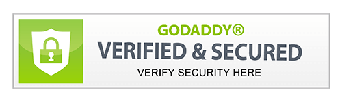 GoDaddy, verified & secured